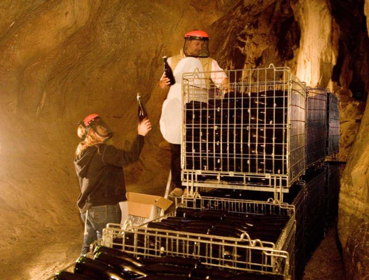 L'azienda Durin e lo spumante invecchiato in grotta