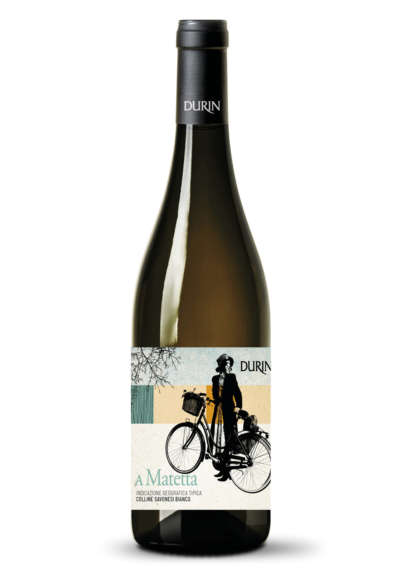 Durin white wine A Matetta IGT Colline Savonesi Liguria