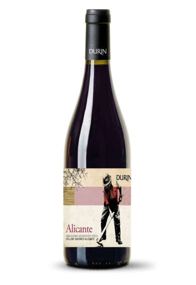 Durin red wine Alicante Liguria