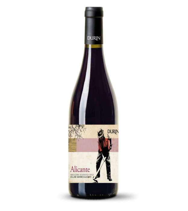 Durin red wine Alicante Liguria