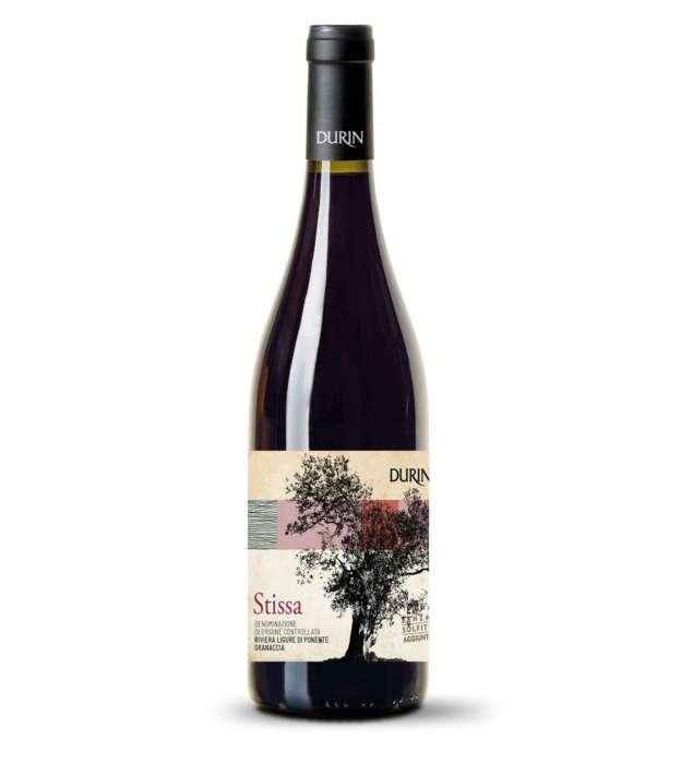 Durin red Wine Stissa Liguria