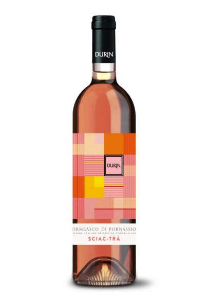 Durin rose wine Sciac-trà Liguria
