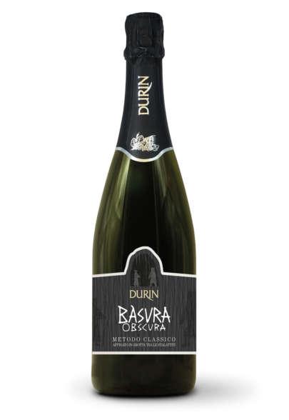 Durin sparkling wine Bàsura Obscura Liguria