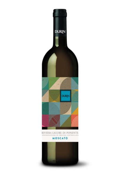 Durin white wine Moscato Liguria