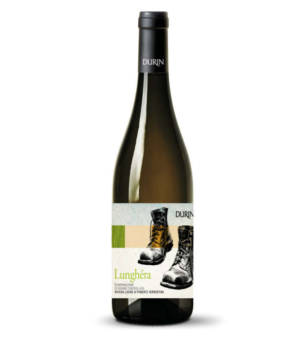 Durin white wine Vermentino Lunghéra Liguria