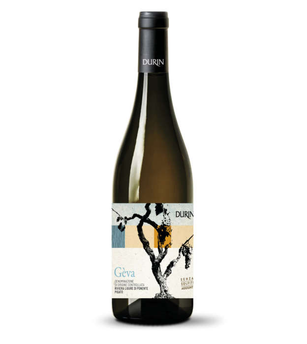 Durin white wine Gèva Liguria Pigato