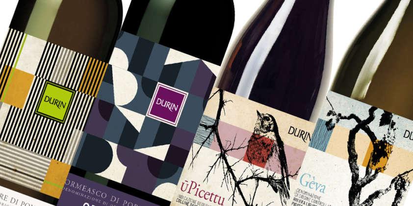 Cambio d'abito per i vini di Durin, sempre più fedeli alla terra.